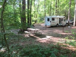 Even the campsites are bigger in Texas!