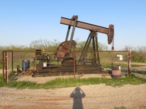 A State Park with it's very own oil well