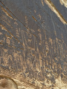 Some of these petroglyphs and nearby ones date back 13,000 years