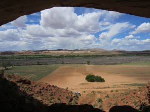 Overlooking the valley and San Juan River