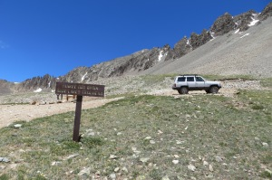 We made it to the top at approx 12,500 ft