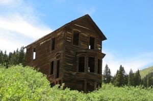 Bay window house-Animas Forks, CO