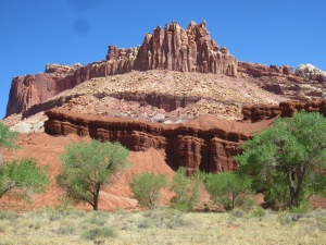 'The Castle' - Capital Reef NP