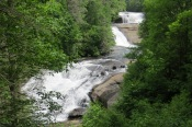 Triple Falls in the Dupont State Forest
