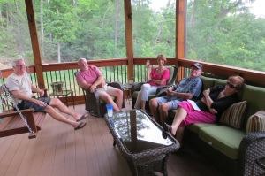 David, Dottie, Uncle Bernard and Aunt Margaret