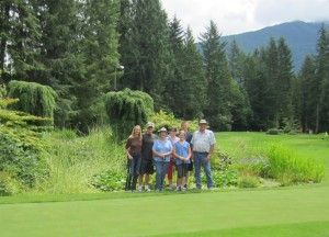 Tap-In 18 hole putting course at Cultus Lake
