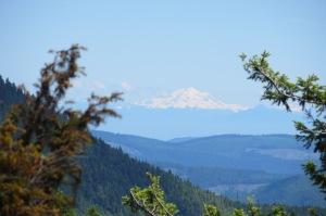 Mt Baker as seen from Hurricane Ridge
