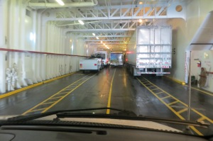 Boarding the ferry from Port Angeles to Victoria