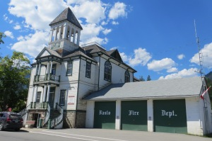 Victorian architecture seen throughout the Kootenay Rockies