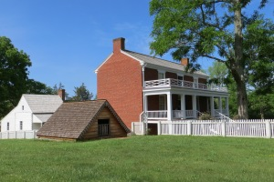 McLean House, site of the end of the Civil War